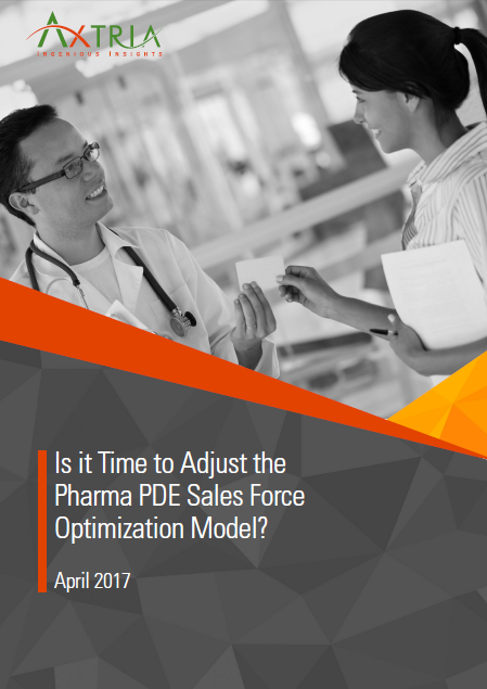 Pharma PDE sales Force Optimization Model