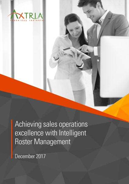 Sales Operations Excellence with Intelligent Roster Management