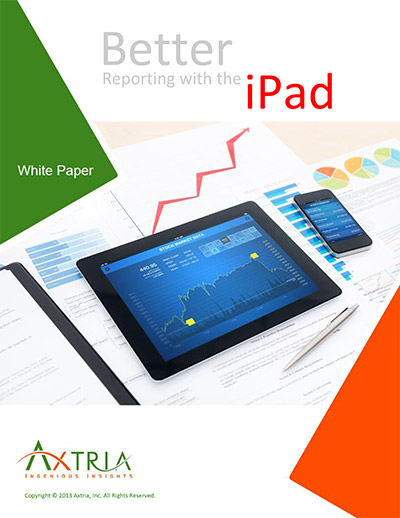 Better Reporting with the iPad