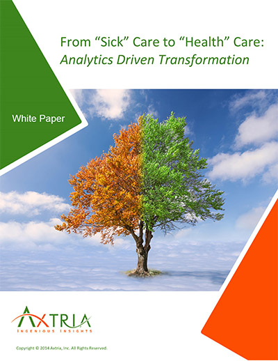 """From """"Sick"""" Care to """"Health"""" Care: Analytics Driven Transformation"""