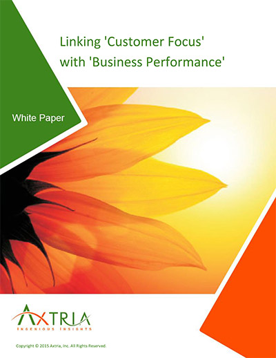 Linking Customer Focus With Business Performance