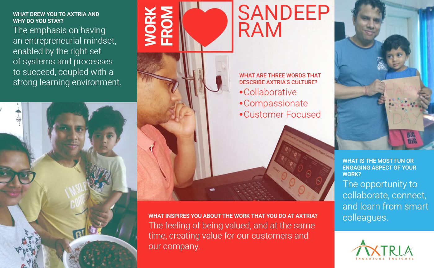 #AxtriaWorksFromHeart - Sandeep